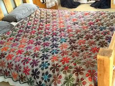 Ravelry: Modern Blanket of Flowers pattern by Julie Yeager