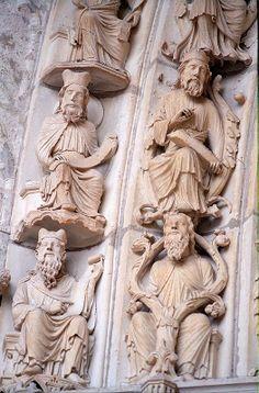 Cathédrale de Chartres - Portail Royal - les Rois