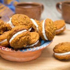 Ukusni kolačići od bundeve s filom od krem sira, putera i meda.