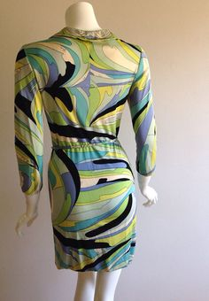 AS IS Emilio Pucci 1960s Belted Tunic Dress by CoutureArabesque
