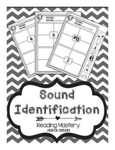 Reading Mastery- The Ultimate Printable Sound Packet