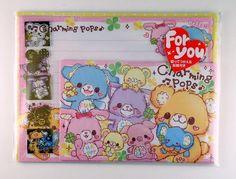 Kamio Charming Pops Letter Set