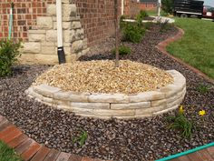 Simple retaining walls make for dynamic additions to any garden. Retaining Walls, Over The Years, Stepping Stones, Landscape, Simple, Garden, Outdoor Decor, Projects, Courtyards