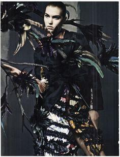 Chic-Gothic-Glam | Craig McDean #photography | Vogue Italia September 2011