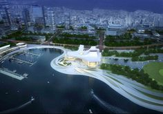 Busan Opera House Second Prize Winning Proposal / designcamp moonpark dmp