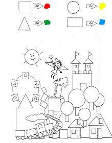 - Kids education and learning acts Shapes Worksheet Kindergarten, 1st Grade Math Worksheets, Preschool Worksheets, In Kindergarten, Preschool Learning Activities, Free Preschool, Preschool Crafts, Teaching Kids, Geometry Worksheets