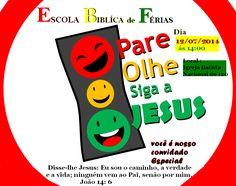 EBF - Pare,olhe,Siga Jesus | Livre AcessoEBD