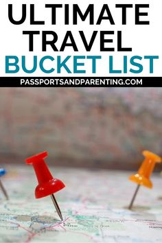 Ultimate travel bucket list ideas for 2021. When it's safe to explore again, this world travel bucket list has the best ideas of destinations to visit. New Travel, Ultimate Travel, Family Travel, Travel Tips, Best Hotels In Amsterdam, European Destination, Free Things To Do, Bucket Lists, Travel Essentials