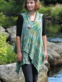 Ravelry: River in Summer pattern by Ilga Leja