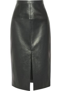 Delivering on office-worthy attire and style credentials in one fell swoop are these ten essential pieces for power dressing with attitude. River Island Skirts, Larsson And Jennings Watch, Pencil Skirt Outfits, Power Dressing, Midi Shirt Dress, Leather Pieces, Leather Heels, Leather Skirts, Fall Skirts