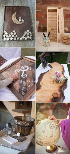 Creative wedding guest book ideas #weddingguestbook #weddingideas #uniquewedding