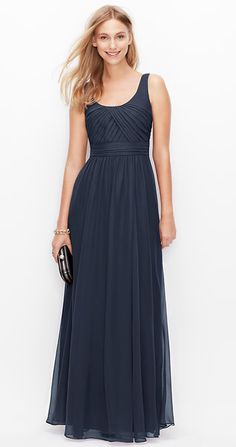 Navy Blue Bridesmaid Dresses On Pinterest Alfred Sung