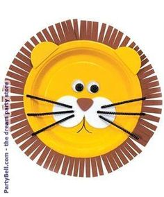 L is for Lion- Foam Lion Plates  sc 1 st  Pinterest & Pin by luckypep79 on Arts and crafts | Pinterest | Craft Paper ...