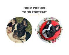 Custom pet portrait custom dog portrait custom pet by NicomadeMe