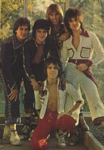 Bay City Rollers :-)  We used to be in love with these guys! Our 1 Direction Go to...http://youtu.be/yUwW108ITzw