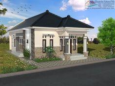 Duplex House Design, Small House Design, Modern House Design, Modern House Floor Plans, My House Plans, Minimalist House Design, Minimalist Home, Philippines House Design, Philippine Houses