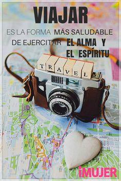 #Frases #Viajar es la forma más saludable de ejercitar el #alma y el #espíritu.