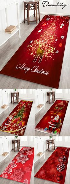 Up to off, Rosegal Christmas home decor floor decoration holiday style shower mats entrance mats bathroom rugs for Halloween Christmas Rugs, All Things Christmas, Christmas Holidays, Christmas Crafts, Simple Christmas, Christmas Bathroom, Christmas Ideas, Christmas Wishes, Interior Design Minimalist