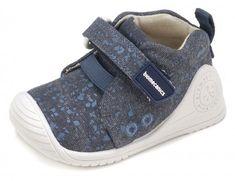 c2037e41484 Biomecanics canvas shoes Biomecanics Navy blue canvas with blue splatter  print and white trims Machine washable Biomecanics 182125 Children's canvas  shoes.