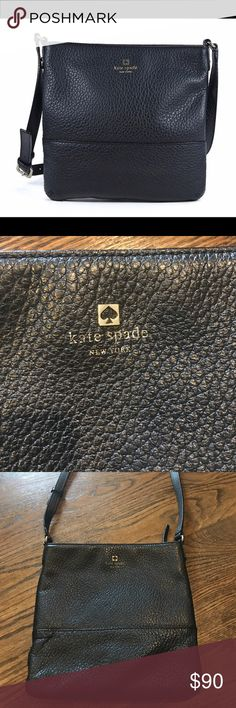 Kate Spade Cora Crossbody leather bag Bag is in great condition. Hardly used. See pictures of white mark that is on bag. I listed this bag as the cheapest one on posh! kate spade Bags Crossbody Bags