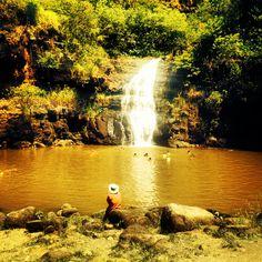 Waimea Falls , North Shore. Oahu