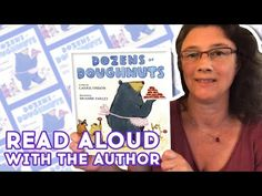 Dozens of Doughnuts - Read Aloud With Author Carrie Finison   Brightly Storytime Together - YouTube Craft Activities For Kids, Read Aloud, Crafts To Do, Story Time, Doughnuts, Flashlight, Carrie, Carry On, Celebrations
