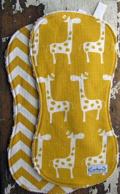 burp cloths - I wish I would have had cute burp clothes.  I must make this for my friend