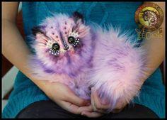 Cotton Candy Kitten by Wood Splitter Lee Cross