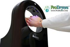 iStorm2 Hand Dryer Vs. Dyson Airblade Modern Bathroom Accessories, Hand Sanitizer Dispenser, Hand Dryer, Blue Led Lights, Medical Design, Carbon Filter, Fashion Face Mask, Fences, High Speed