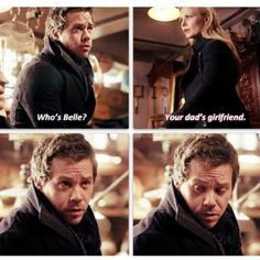 """Neal : 'Who's Belle?' Emma: 'Your dad's girlfriend' - 2.16 """"The Miller's Daughter"""""""