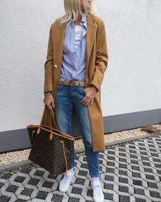 Women S Fashion Mail Order Catalogs Casual Outfits, Fashion Outfits, Womens Fashion, Fashion Edgy, Travel Outfits, Camel Jeans, Camel Coat Outfit, Paris Shirt, Coats For Women