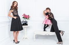 Trunk Archive is a full service image licensing agency representing the most engaging and sought after contemporary photographers. Mother Daughter Outfits, Contemporary Photographers, Girls 4, Holiday Outfits, Mommy And Me, Matching Outfits, Little Princess, Casual Looks, Shirt Dress