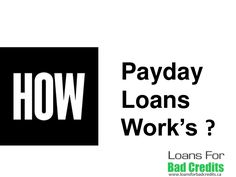 How Payday Loans work's? Quick Guide For Canada People to Get Cash with No Application Cost — http://www.slideshare.net/kaileemyraa11/quick-guide-to-know-bit-about-payday-advance-loans-in-canada
