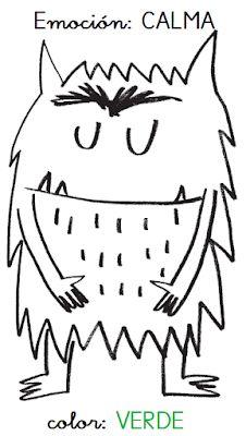 APRENDER ES DIVERTIDO 1º Y 2º: El monstruo de colores. ¡Vaya lío! Monster Activities, Montessori Activities, Color Activities, Activities For Kids, Emotions Preschool, All About Me Preschool, English Activities, Feelings And Emotions, Character Education