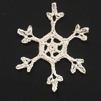 In the Yarn Garden: Crochet snowflakes