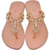 Moonlight Magic Rhinestone Sandals