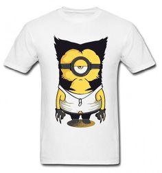 Camiseta Minion Wolverine