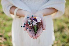 Belles idées pour un mariage en automne : boutonniere for the groom !
