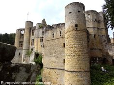 Castle of Beaufort in Luxembourg