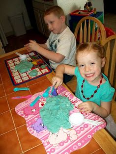 Homeschool: Making Homemade Scented Playdough