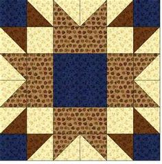 Quilt Blocks of the States - Wyoming