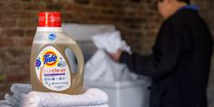 Eco friendly Tide PurClean laundry detergent launching in May! #laundry #greenliving #tide