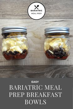 An easy bariatric meal prep breakfast. Portable and yummy! An easy bariatric meal prep breakfast. Portable and yummy! Bariatric Eating, Bariatric Recipes, Bariatric Surgery, Easy Meal Prep, Healthy Meal Prep, Healthy Food, Gewichtsverlust Motivation, Pureed Food Recipes, Protein Recipes