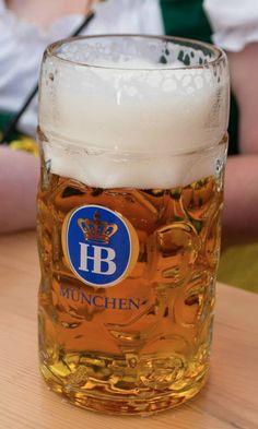 Image of an Oktoberfest stein filled with Hofbrauhaus beer captured by Rachel Cabitt. Kroger Coupons, German Festival, Milk Alternatives, Belgian Beer, Alcoholic Beverages, Beer Brewing, Survival Guide, Craft Beer, Brewery