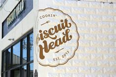 New restaurant Biscuit Head in West Asheville, NC.