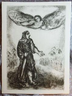 1950's Original Verve,  Marc Chagall, Religious Art, Biblical Art,  Verve Art