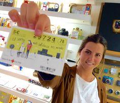 Elena, otra aspirante a ser millonaria tras ganar su boleto del #SorteodeOro de la Cruz Roja Española en nuestra tienda de #Madrid. ¿Quieres conseguir uno? (+info):http://goo.gl/swJ49A