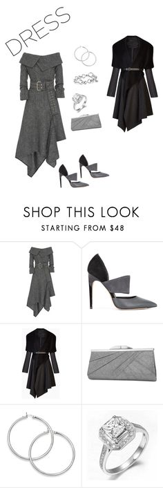 """""""Such A Lady"""" by elshaymac ❤ liked on Polyvore featuring Monse, Calvin Klein, BCBGMAXAZRIA, Jessica McClintock and David Yurman"""
