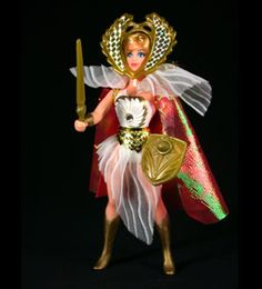 She-ra! Princess of Power. I totally had all the He-man toys. Still a little upset Mom sold my Castle Greyskull at a garage sale.
