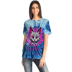 Best T Shirt Designs, Blue Tie Dye, High Definition, Cool T Shirts, Light Blue, Crew Neck, Short Sleeves, Printing, Lovers
